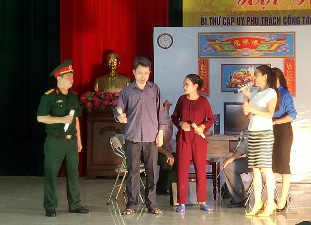 Bộ Chỉ huy Quân sự tỉnh Thanh Hóa tổ chức Hội thi bí thư cấp ủy